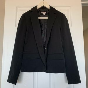 Female black blazer